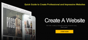 Quick Guide to Create Professional and Impressive Websites