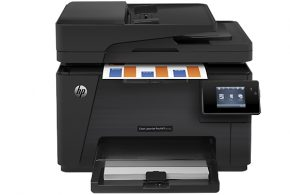 Go Full Color with HP LaserJet Pro MFP-M177